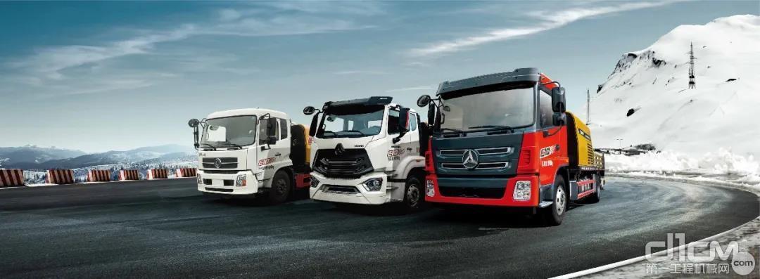 三一国六车载泵引领国六新时代