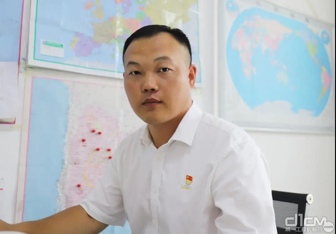 潍柴雷沃工程机械海外营销公司副总经理兼美洲区总监刘福庚