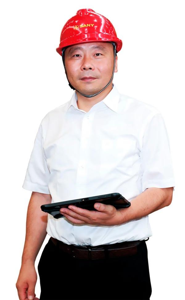 三一集团总裁助理、三一重工泵送事业部泵送公司副总经理蒋庆彬