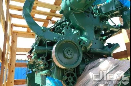 客户决定以旧换新,订购沃尔沃再制造发动机