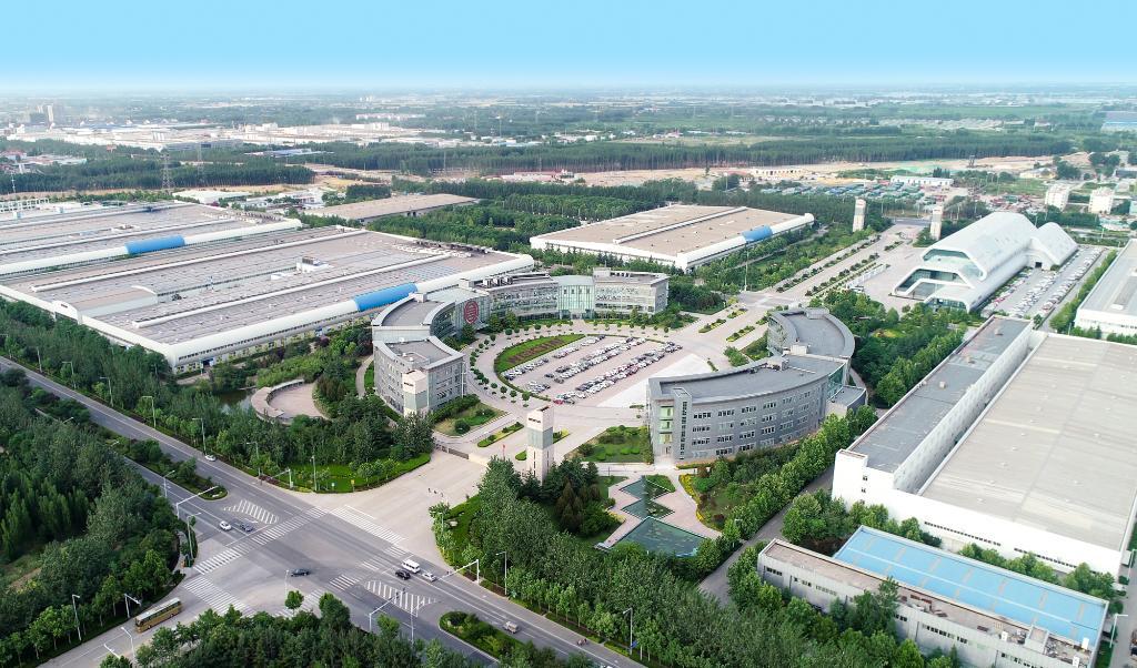 潍柴工业园俯瞰图(企业提供)