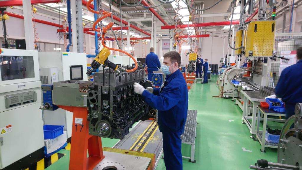 潍柴马兹工厂克服疫情影响,保障生产有序开展(企业提供)