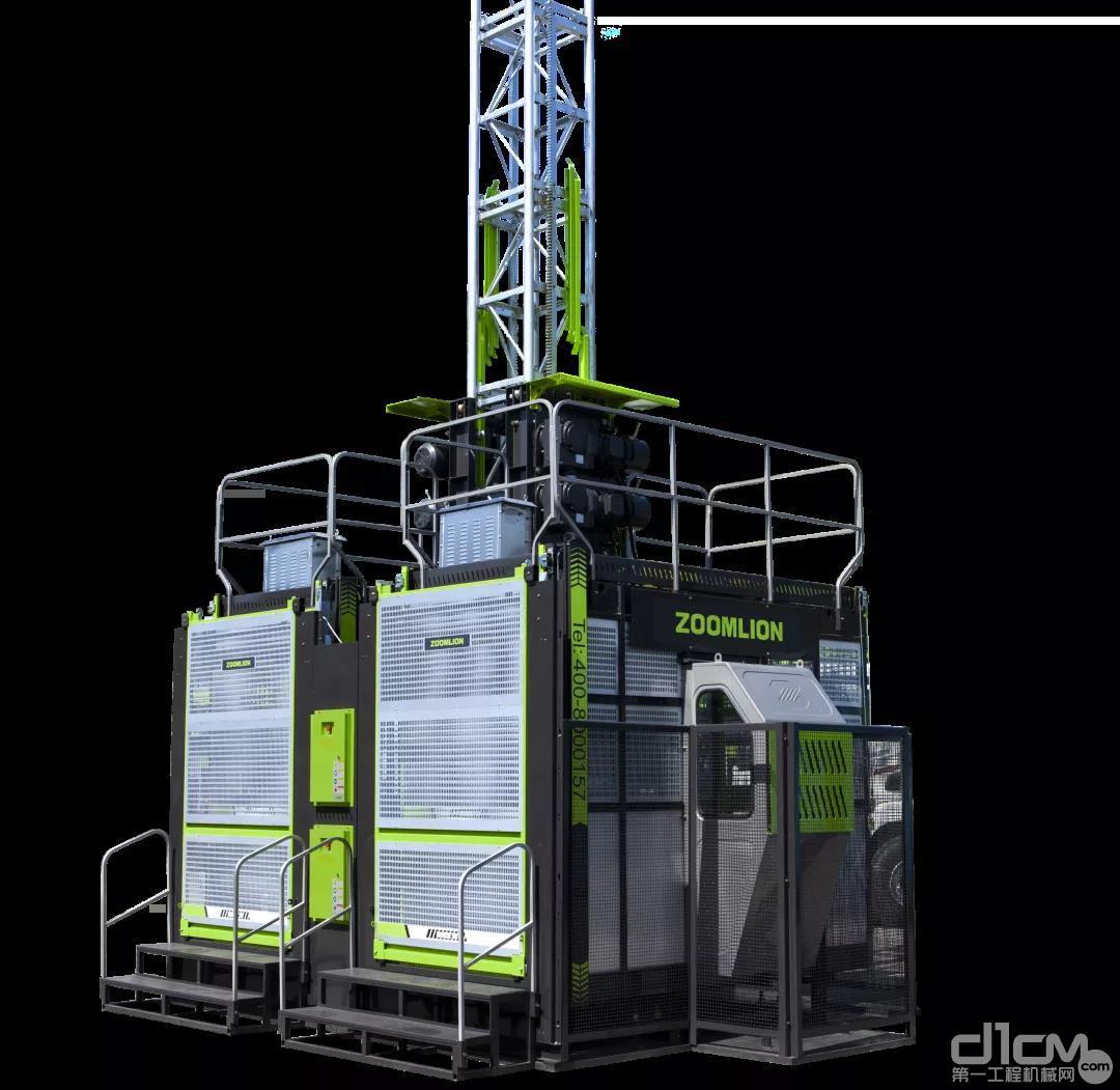 中联重科新一代节能型低速变频施工升降机SC200/200EB-A(4S2050)