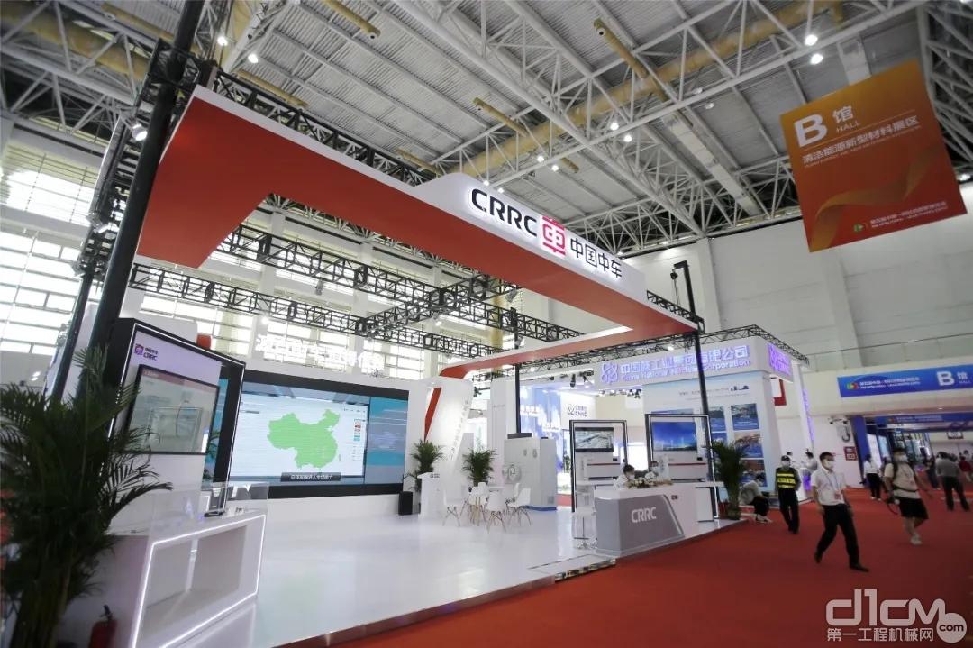 中国中车亮相中阿博览会