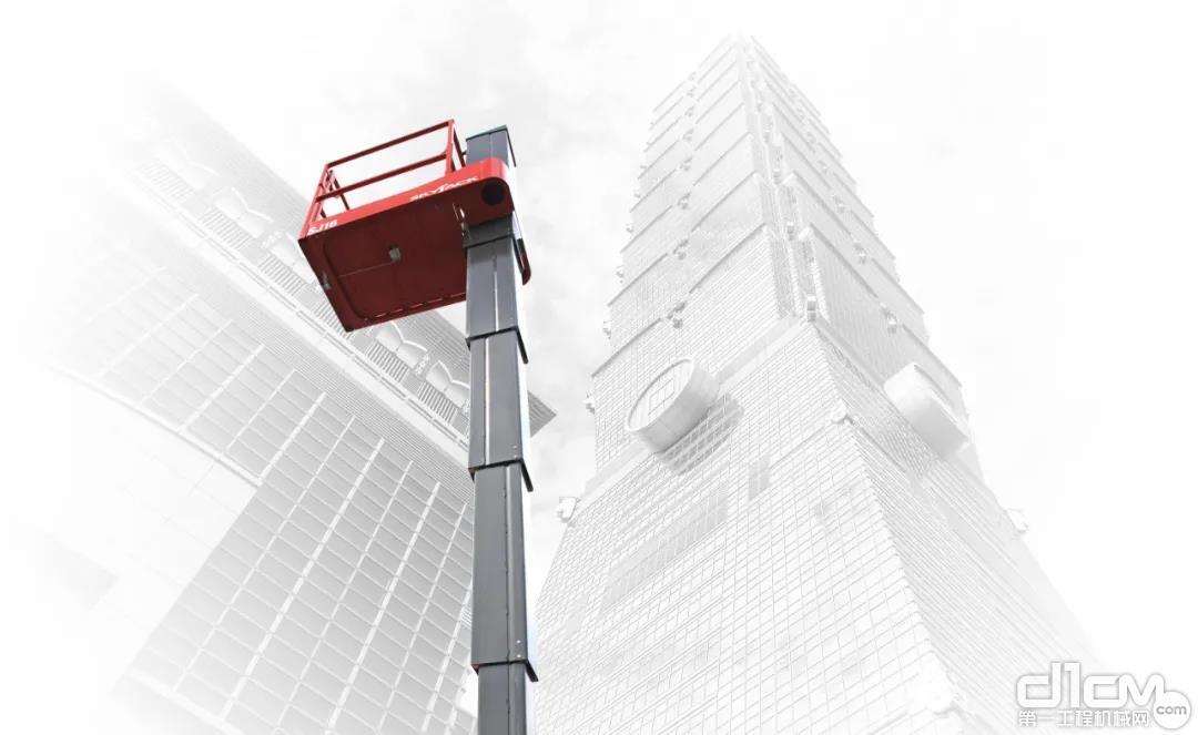 斯凯杰科(Skyjack)SJ16垂直桅杆式高空作业平台