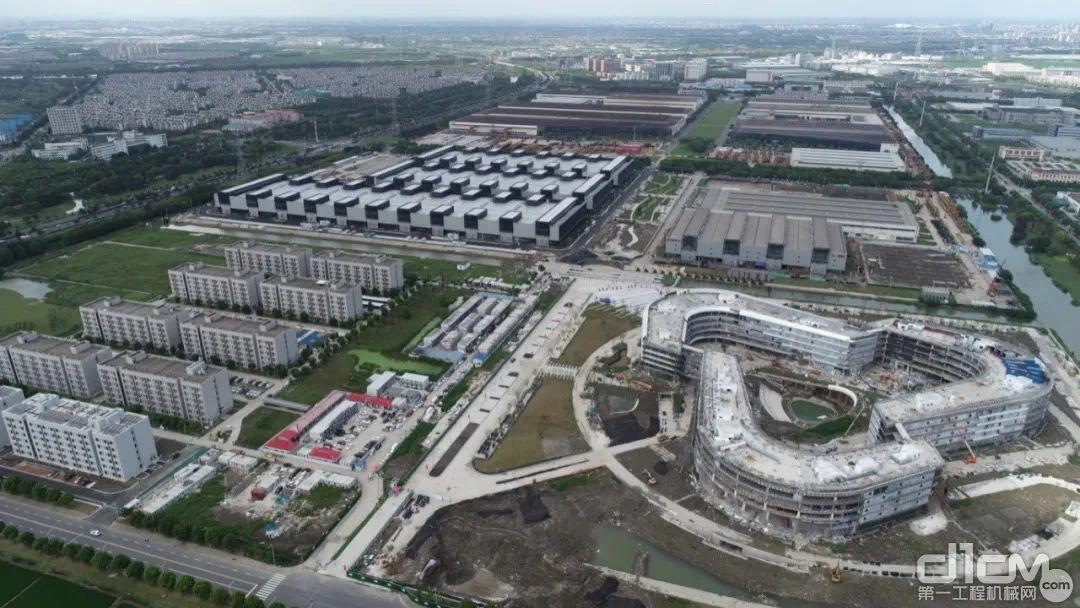 规划5年内,将昆山三一产业园,建设成为千亿级总部及研发基地