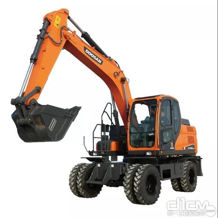 斗山DX150WE-9C挖掘机