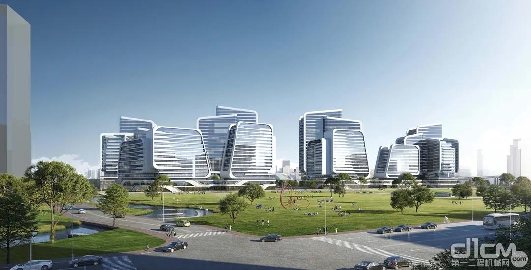杭州高新智造谷产业服务综合体EPC总承包项目