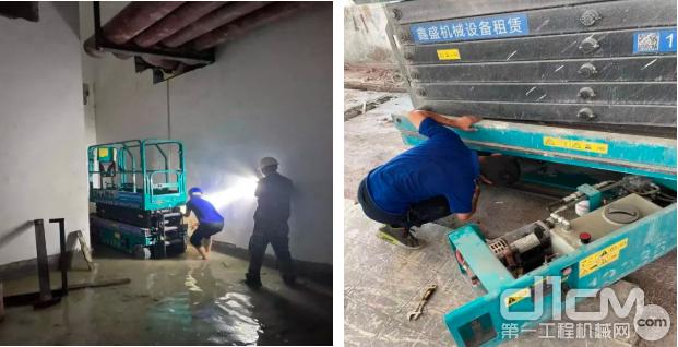 吴磊维修深圳客户设备