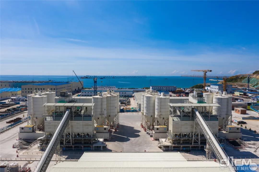 中广核惠东核电站核岛混凝土搅拌站