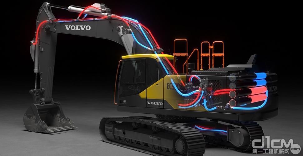 沃尔沃建筑设备开创性的电动液压系统荣获沃尔沃技术奖