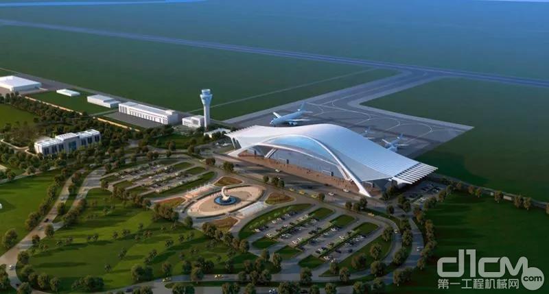 巴基斯坦瓜达尔新国际机场效果图