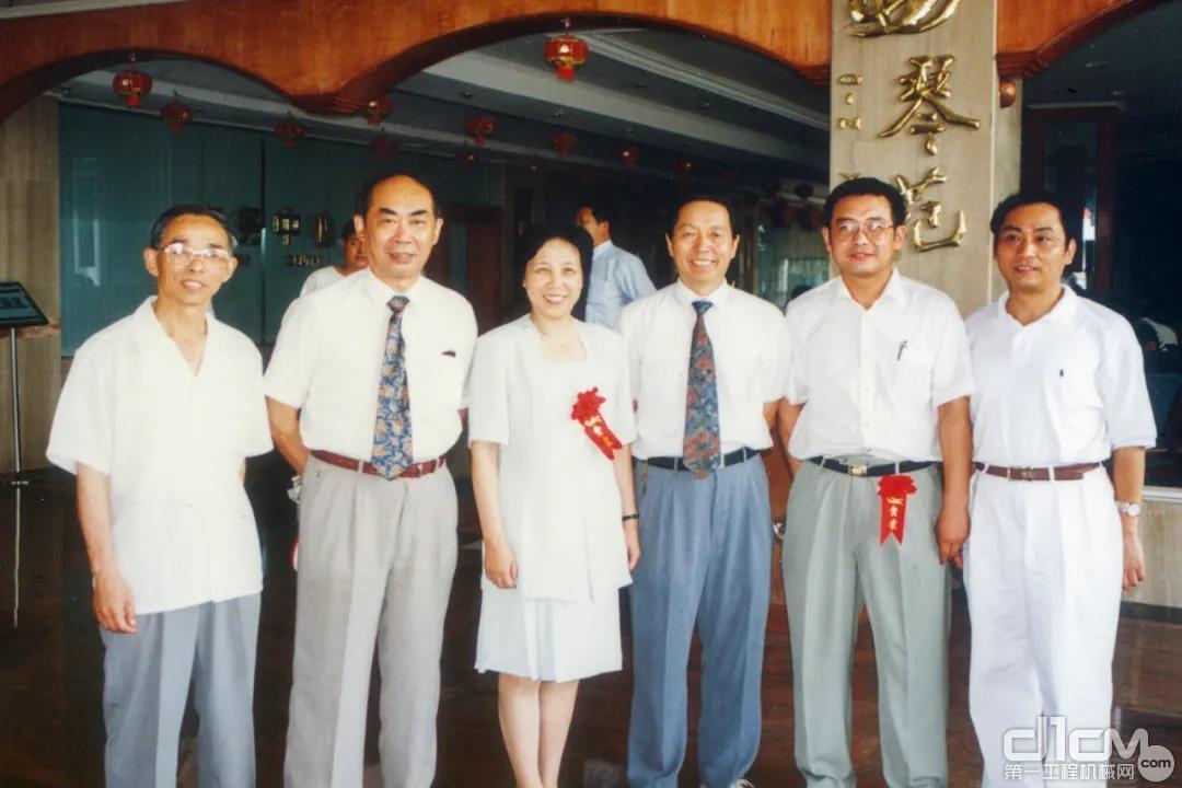 1996年,建机院40周年庆典