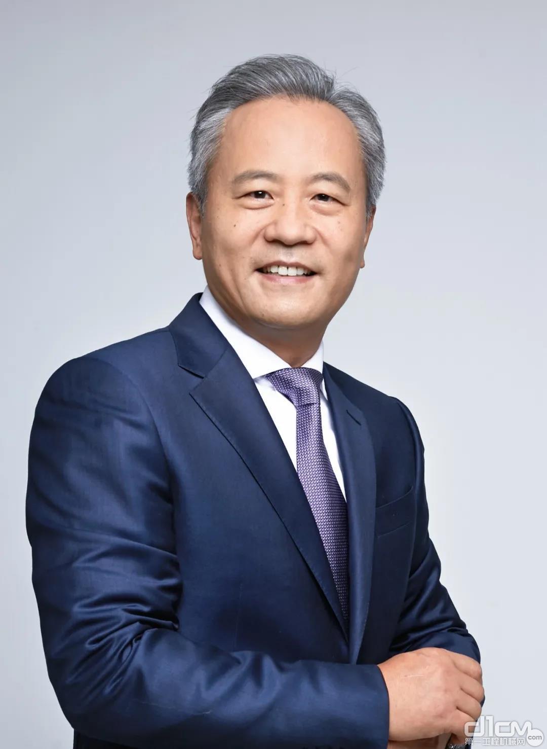 卡特彼勒全球副总裁陈其华。图片来源:卡特彼勒