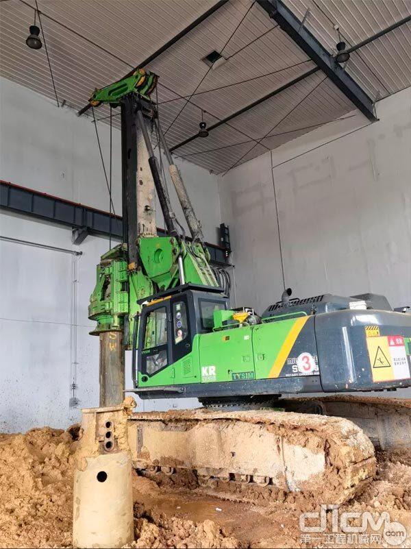 KR300ES低净空全液压旋挖钻机