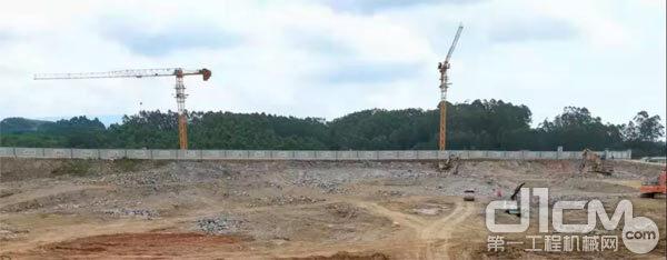 △ 房产地基建设