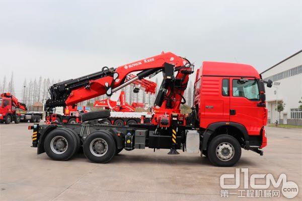 宏昌天马30吨折臂随车起重机K628