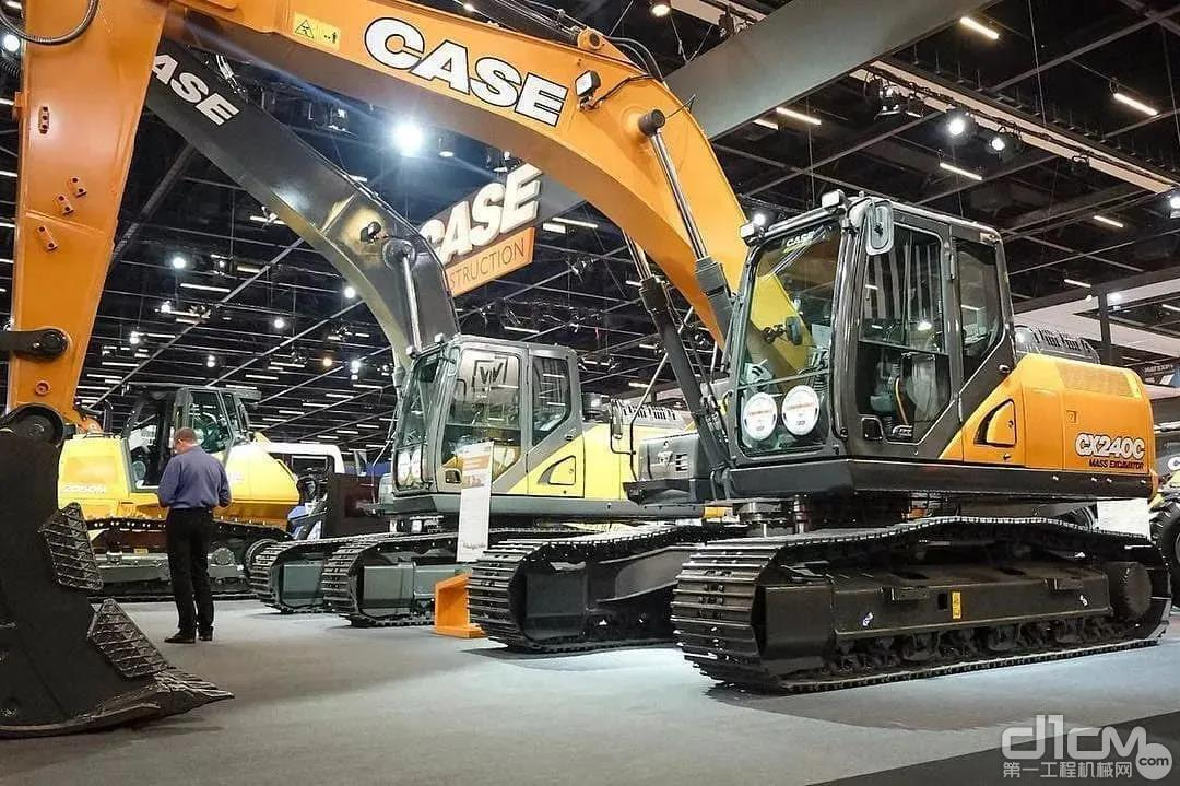 凯斯CX240C&CX350C,更适合道路建设的挖掘机