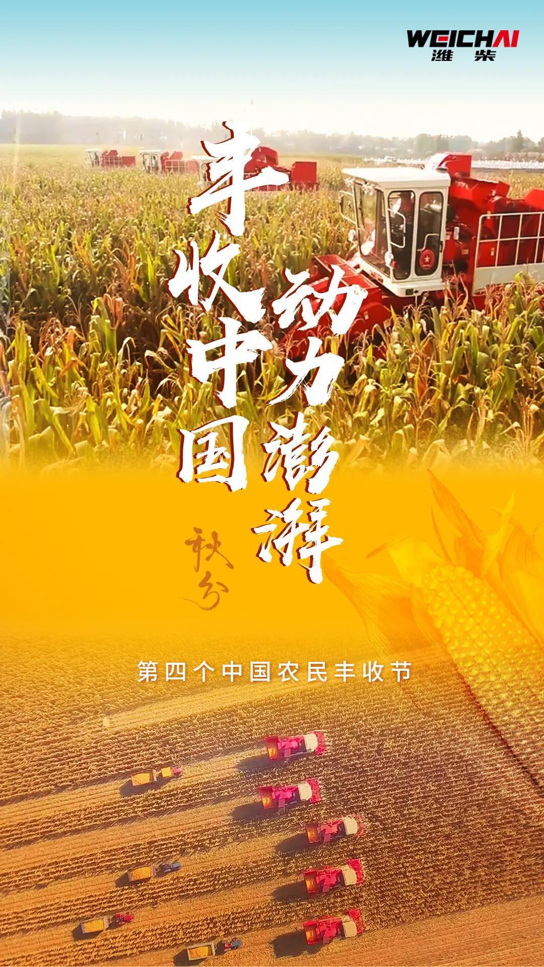 迎来第四个中国农民丰收节