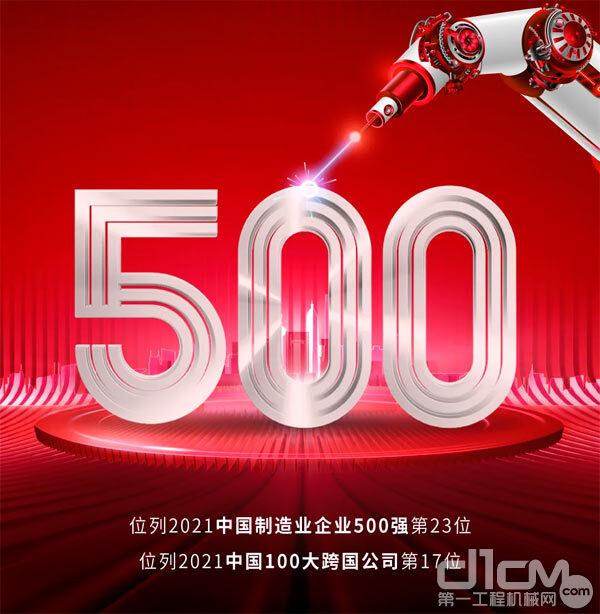 潍柴集团位列2021中国企业500强第77位