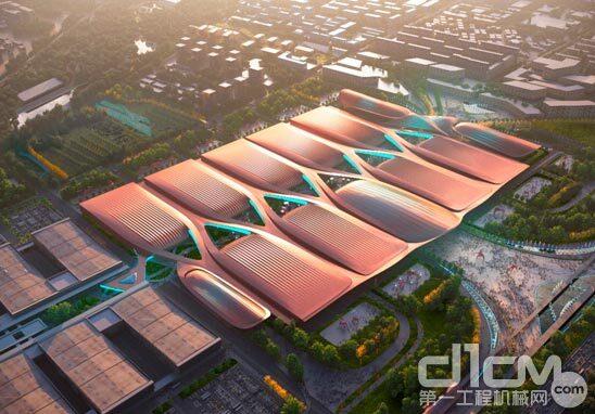 北京新国展二期开工