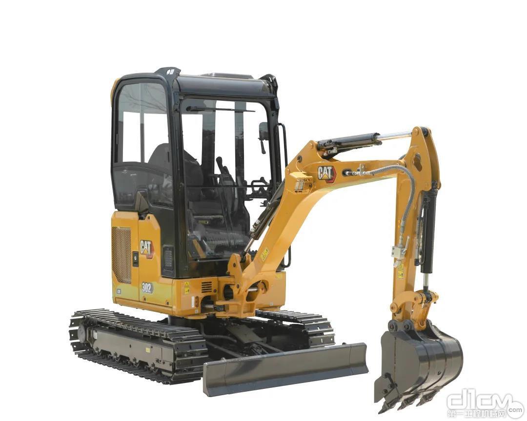 """用""""流行语""""的方式打开CAT®(卡特)302 CR挖掘机"""