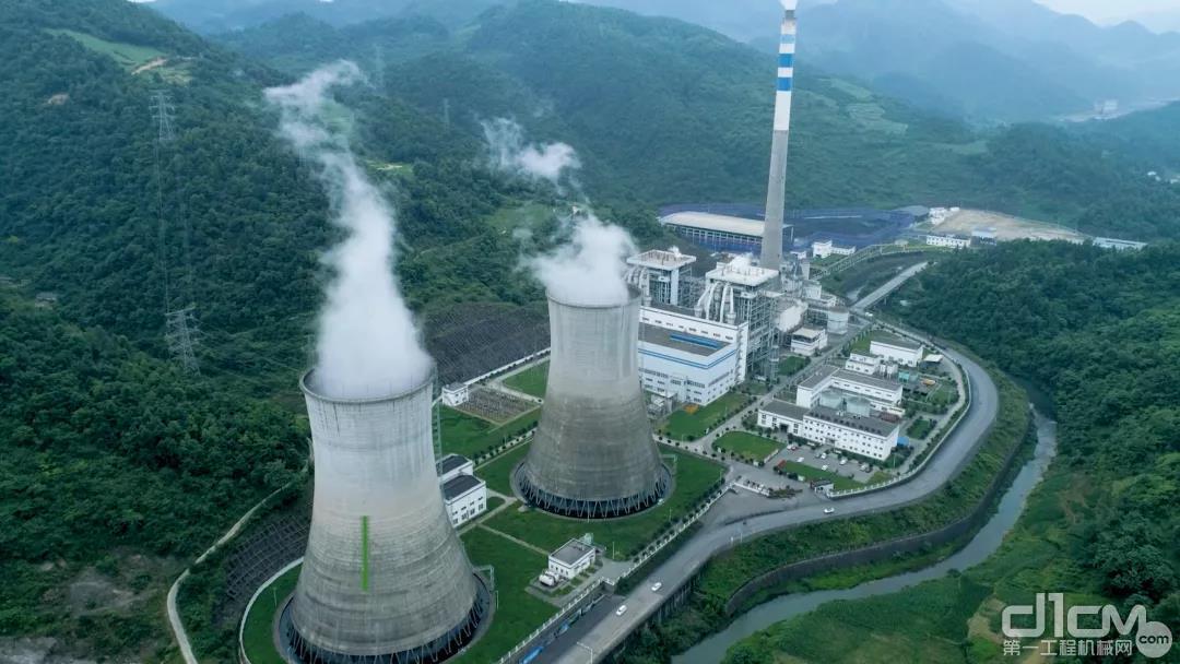 山推纯电装载机应用于电厂