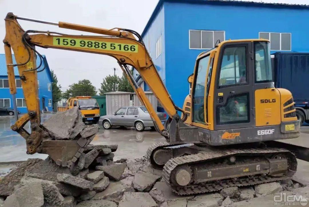 临工E660F挖掘机