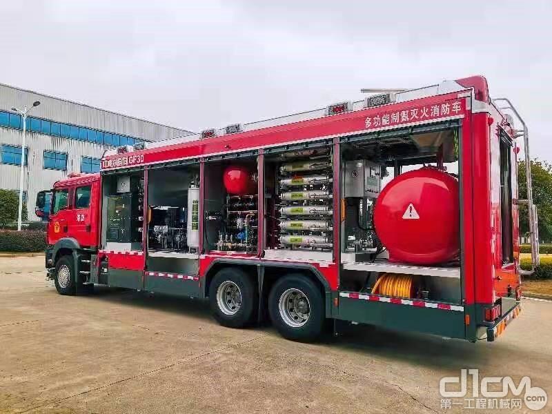 中联两款新型救援装备
