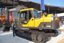 沃尔沃EC170DL液压挖掘机