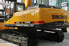 国机重工GE380H大吨位挖掘机