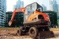 DX60W履帶挖掘機
