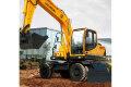 R150W-9輪式挖掘機