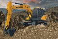 R130 VS履带挖掘机