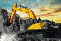 R385L VS履带挖掘机