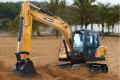 SY115C小型液压挖掘机