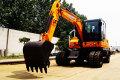 犀牛XN65-4L輪式挖掘機