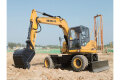 HT95W轮式挖掘机