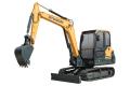 HX55小型履带挖掘机