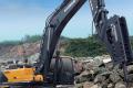 R495LVS履带挖掘机(破碎专用)