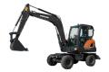 DX60W ECO轮式挖掘机