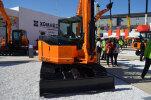 京城重工NS80-7履带挖掘机