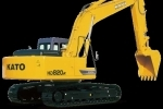 加藤HD820R履带挖掘机