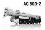 特雷克斯AC 500-2全路面起重机