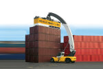 利勃海爾LRS 645 LH (Log Handler)集裝箱正面吊