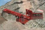 特雷克斯595履带移动倾斜式筛分设备