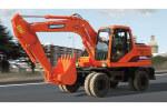 斗山DH150W-7輪式挖掘機