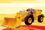 野牛SDZ15F低煤层型轮式装载机