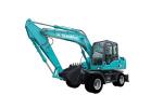 山河智能SWE130W轮式挖掘机