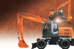 日立ZX140W-3轮式挖掘机